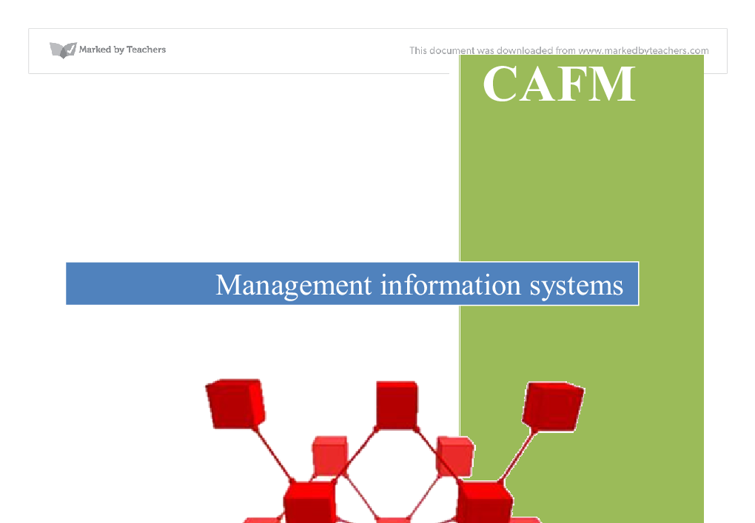 facility management system/essays