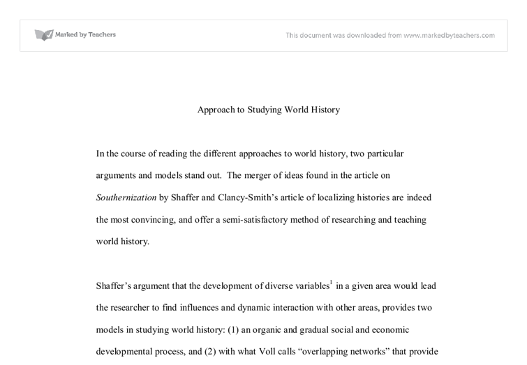 southernization shaffer thesis Questions for shaffer's article on southernization what is ms shaffer's thesis in the article what does the author mean by southernization how is the south defined in her article list the ideas, the agricultural, mineral.