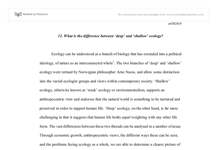 theories of social ecology essay This essay appears in anarchy archives with the permission of the author   utopian political theory, theory of technology, urbanism, and the philosophy of  nature  what literally defines social ecology as social is its recognition of the  often.