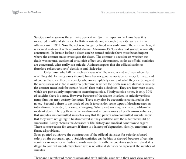 essay on deviant acts in society