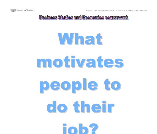essay on what motivates people to change Get an answer for 'what motivates a person to choose the social work professionwhat people who enter the social well as the desire to change.