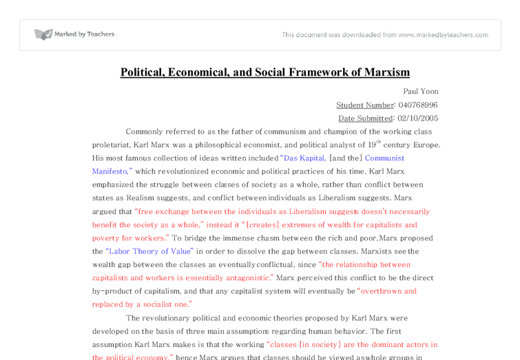 marxist media theory essay The traditional marxist approach argues the concentration of ownership of the mass media in the hands of a few corporations enables marxist view of media owners.