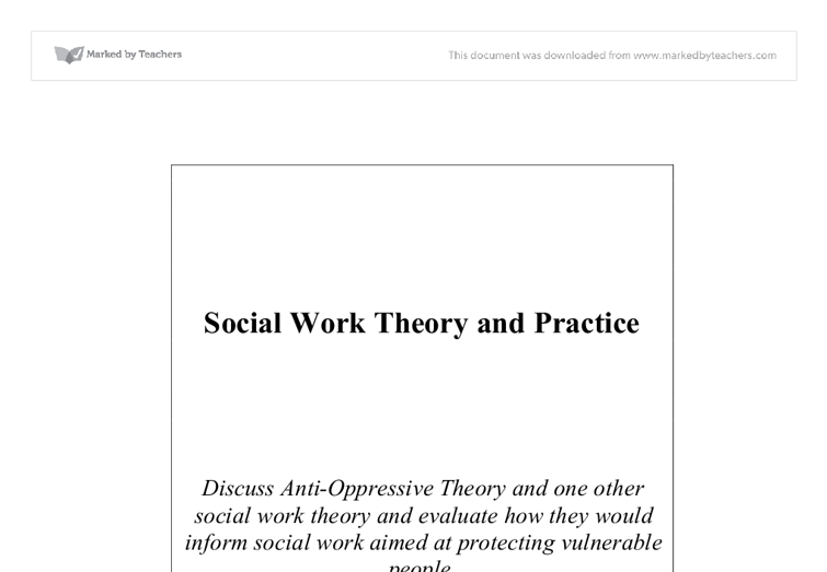 free essays group work theory social work Essay paper on working in the community individual social work, group social work the task for social worker is to help to create a group to protect their.