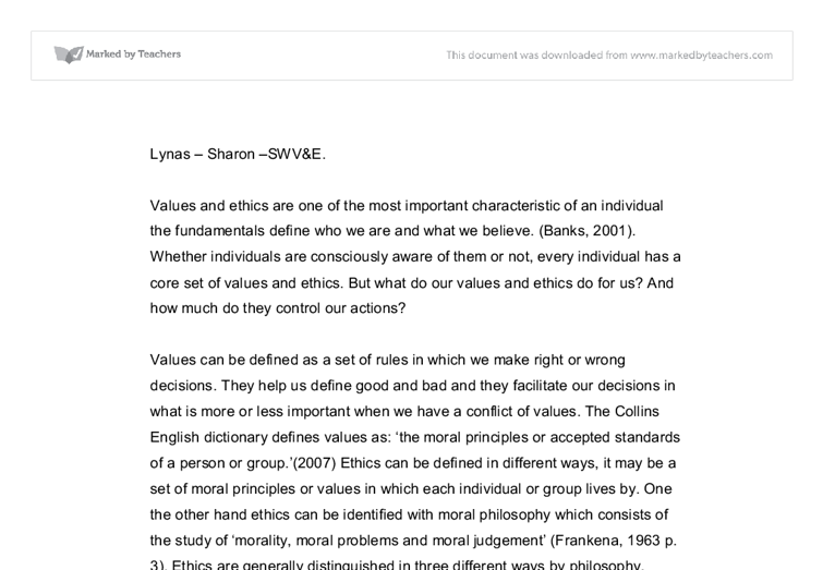 essay on ethics and values in social work Produk terkait ethics and values in social work essays, help in writing a personal statement for job, eku creative writing mfa.