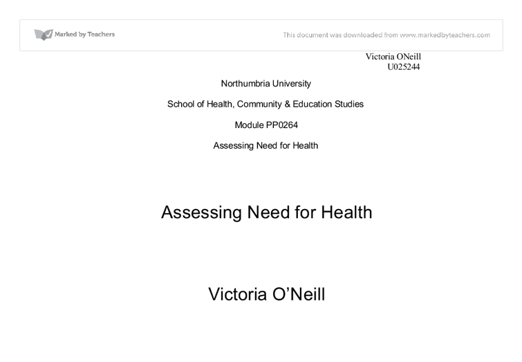 health needs assessment essay the purpose of this assignment is to health needs assessment essayhealth needs assessment essay bestwriting service health needs assessment essayhealth needs assessment essay bestwriting